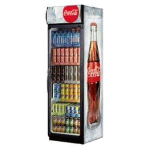 distributeur Coca-Cola en frigo