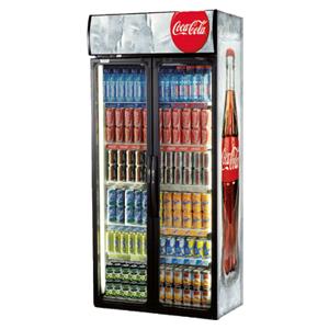 Frigo-coca-cola-à-deux-portes