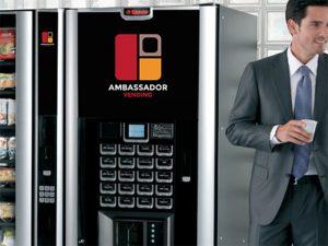 distributeurs automatiques belgique Ambassador Vending