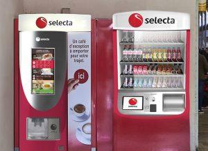 distributeurs automatiques belgique Selecta